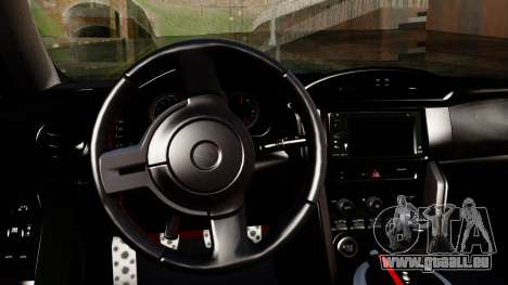 Toyota GT86 (ZN6) 2012 PJ für GTA San Andreas rechten Ansicht