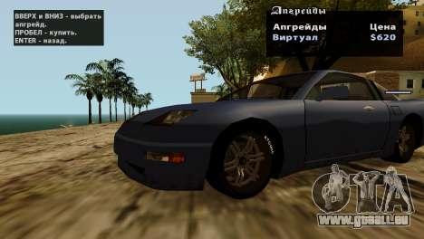 Roues de GTA 5 v2 pour GTA San Andreas douzième écran