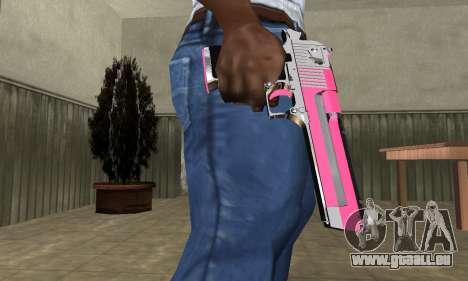 Pink Deagle für GTA San Andreas