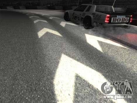 De nouvelles textures de la piste 8 Piste pour GTA San Andreas troisième écran
