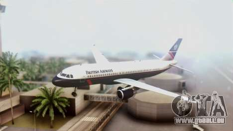 Airbus A320-200 British Airways für GTA San Andreas