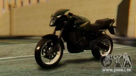 Bajaj Rouser 135 pour GTA San Andreas