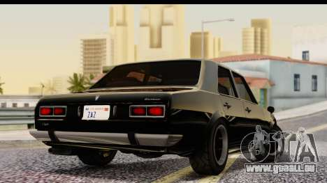 GTA 5 Vulcar Warrener IVF für GTA San Andreas linke Ansicht