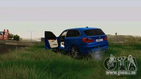 BMW X5 F15 2014 für GTA San Andreas Innenansicht