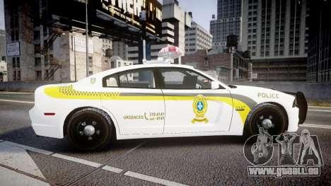 Dodge Charger Surete Du Quebec [ELS] für GTA 4 linke Ansicht
