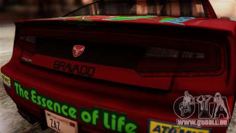 GTA 5 Bravado Buffalo Sprunk HQLM pour GTA San Andreas vue arrière