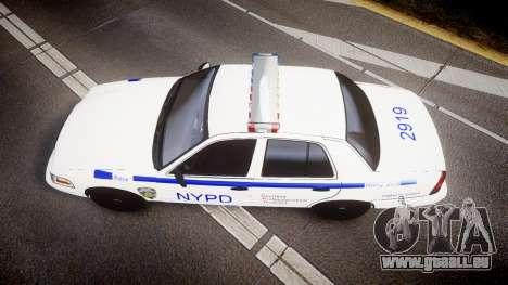 Ford Crown Victoria NYPD [ELS] für GTA 4 rechte Ansicht