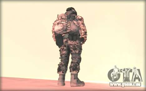 BF3 Soldier für GTA San Andreas zweiten Screenshot
