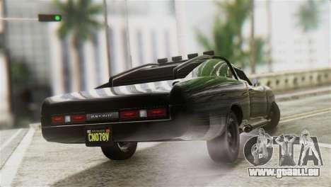 GTA 5 Imponte Dukes ODeath IVF pour GTA San Andreas laissé vue