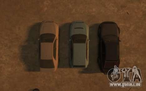 Karin Sultan Hatchback v2 pour GTA 4 est une vue de dessous