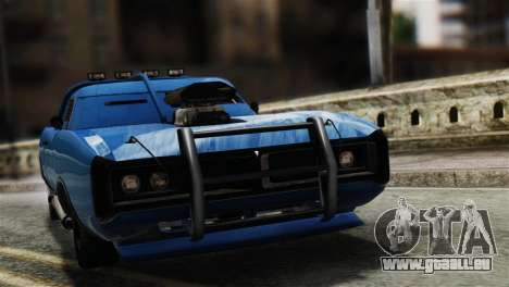GTA 5 Imponte Dukes ODeath für GTA San Andreas zurück linke Ansicht