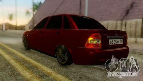 Lada Priora Sedan für GTA San Andreas linke Ansicht