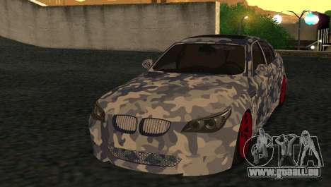 BMW M5 E60 RCS pour GTA San Andreas