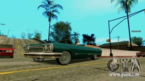 Räder von GTA 5 v2 für GTA San Andreas zweiten Screenshot