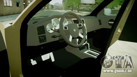 Dodge Charger RT 2006 pour GTA 4 Vue arrière