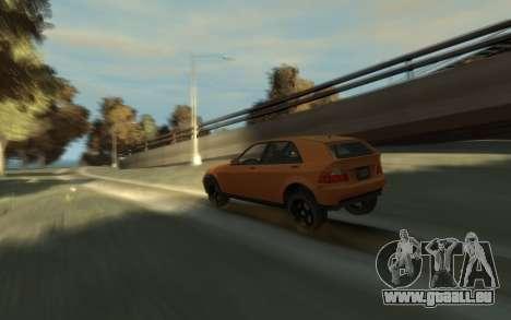 Karin Sultan Hatchback v2 für GTA 4 rechte Ansicht