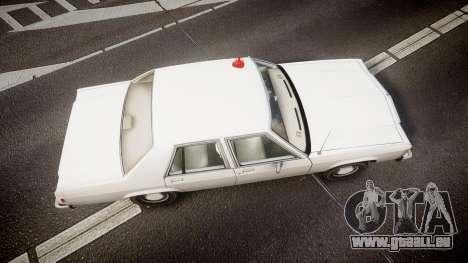 Ford LTD Crown Victoria 1987 Detective [ELS] pour GTA 4 est un droit