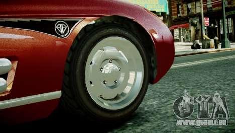 Benefactor Stirling GT from GTA 5 pour GTA 4 est un droit