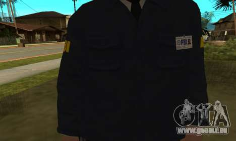 FBI HD für GTA San Andreas zweiten Screenshot