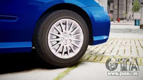 Renault Laguna III.1 Estate GT pour GTA 4 Vue arrière de la gauche