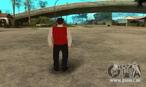 Casino Skin pour GTA San Andreas quatrième écran