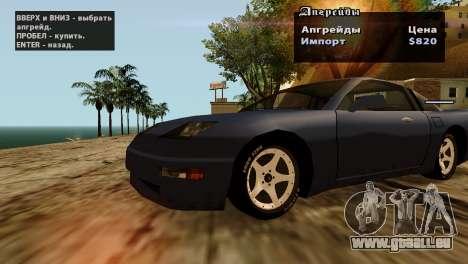 Roues de GTA 5 v2 pour GTA San Andreas neuvième écran