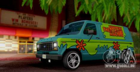 Ford E-150 Scooby Doo pour GTA San Andreas