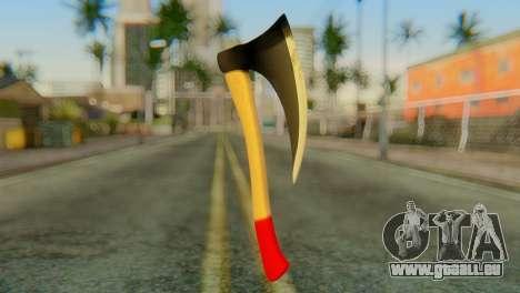 Axe pour GTA San Andreas