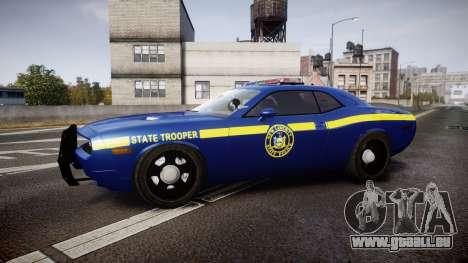 Dodge Challenger NYSP [ELS] pour GTA 4 est une gauche