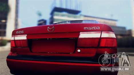 Mazda 626 pour GTA San Andreas vue de droite