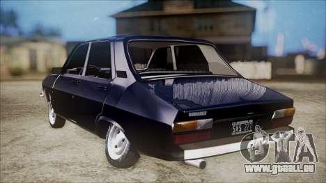 Renault 12 TL pour GTA San Andreas laissé vue