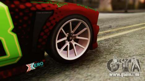 GTA 5 Bravado Buffalo Sprunk HQLM pour GTA San Andreas sur la vue arrière gauche