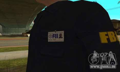 FBI HD für GTA San Andreas dritten Screenshot