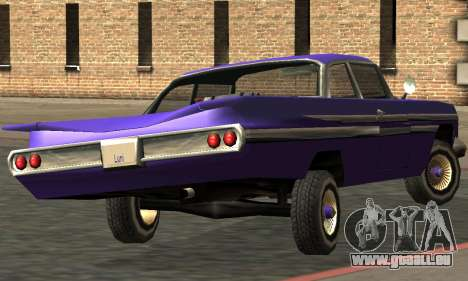 Luni Voodoo Remastered für GTA San Andreas Rückansicht
