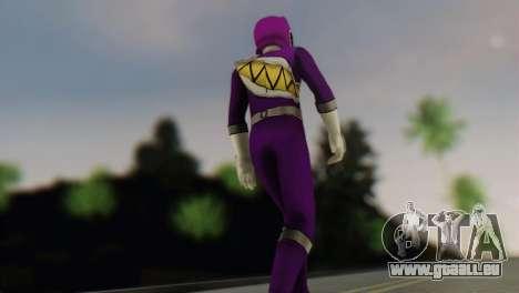 Power Rangers Skin 6 pour GTA San Andreas deuxième écran