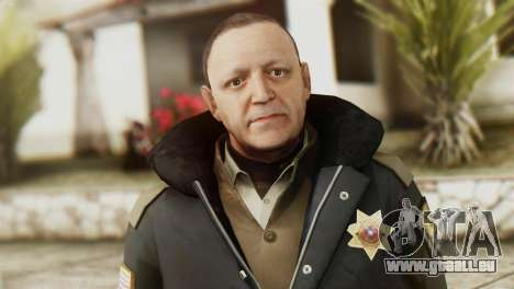 Snowcop Skin from GTA 5 für GTA San Andreas dritten Screenshot
