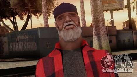 New Homeless Skin für GTA San Andreas dritten Screenshot