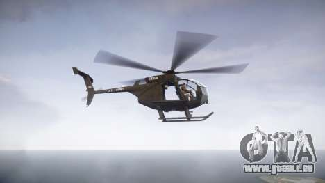 MH-6 Little Bird für GTA 4 linke Ansicht