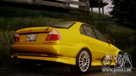 Mitsubishi Lancer Evolution VI 1999 PJ für GTA San Andreas linke Ansicht