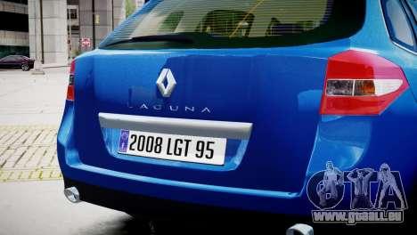 Renault Laguna III.1 Estate GT pour GTA 4 est un droit