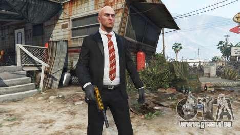 GTA 5 Hitman Agent 47