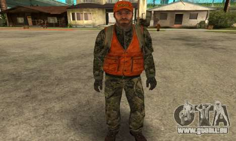 Job Man pour GTA San Andreas troisième écran