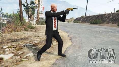 GTA 5 Hitman Agent 47 troisième capture d'écran