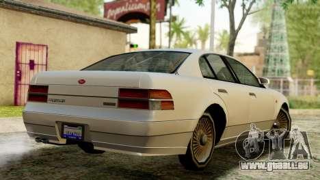 GTA 4 Intruder für GTA San Andreas linke Ansicht