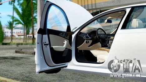 Audi A6 Stanced pour GTA San Andreas vue de côté