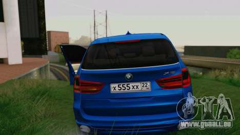 BMW X5 F15 2014 für GTA San Andreas Innen