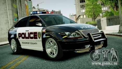 Subaru Impreza WRX STI Police für GTA 4