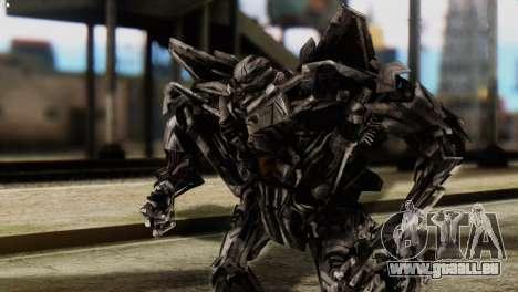 Starscream Skin from Transformers v2 für GTA San Andreas
