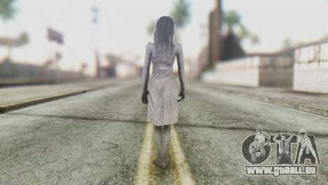 Kayako Skin pour GTA San Andreas troisième écran