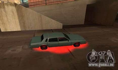 Cleo Néon pour GTA San Andreas deuxième écran